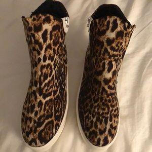 Nasty Gal leopard platforms